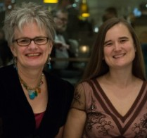 Lorna Harling and Rebecca Fahy