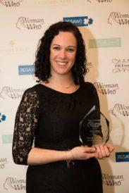 Jenny Hudson, Sweet As-Winner of the Woman Who...Entrepreneur Award