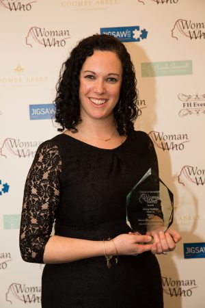 Jenny Hudson, Sweet As-Winner of the Woman Who...Entrepreneur Award