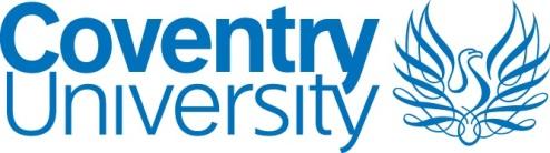 Coventry University Logo landscape
