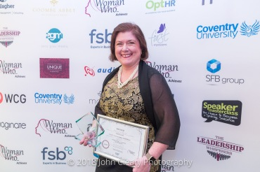 Julia Leask, Leask Accountancy Solutions (Woman Who Achieves through Networking 2018)